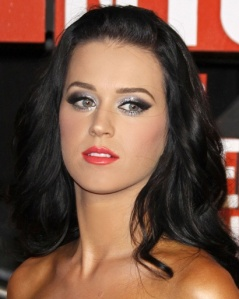 Katy Perry glittery eyes